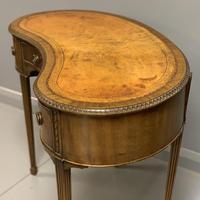 Edwardian Kidney Shape Dressing Table (2 of 9)