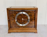 Walnut Chiming Elliott Mantel Clock
