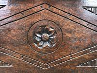 Antique Oak Coal Box or Scuttle (8 of 11)