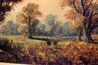 Victorian Oil Painting of Charlecote Park (5 of 9)
