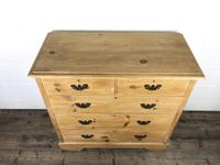 Antique Pine Chest of Drawers (2 of 10)