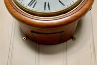 10 Inch Fusee Harrods Dial Clock (4 of 8)