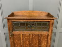 Arts and Crafts Oak Cabinet c.1890 (3 of 11)