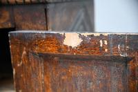 Grained Carved Rustic Hanging Cupboard (8 of 12)