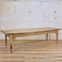 Exceptionally Large 18th Century Elm Farmhouse Table