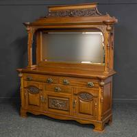 Late Victorian Mahogany Sideboard (3 of 19)