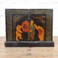 Small Chinese Painted Box