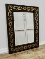 19th century Carved Oak and Gilt Wall Mirror (2 of 6)