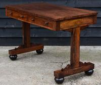 Superb Quality Regency Rosewood Library Table / Desk / Hall Table (7 of 7)