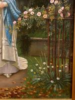 Fine Quality Ornately Framed Oil on Canvas Entitled 'Sunday Best' by Victorian Artist Arthur Langley Vernon (4 of 6)