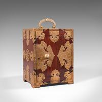 Antique Collector's Box, Chinese, Rosewood, Decorative Specimen Case c.1920 (2 of 12)