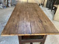 19th Century Pine & Oak Monk's Bench / Work Table (9 of 10)