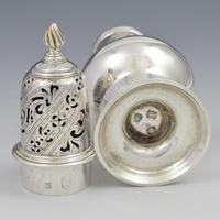 George II Silver Pepper Caster Jabez Daniell London 1758 (7 of 7)