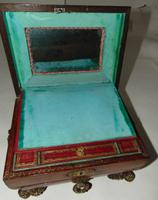 Regency Leather Covered Work Box (7 of 7)