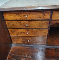 Fine & Rare 18th Century Burr Oak Bureau (6 of 7)