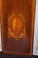 Pair of Edwardian Mahogany & Inlaid Single Beds (5 of 13)