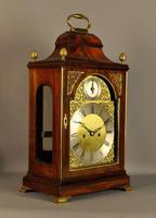 Mahogany Verge Repeating Fusee Bracket Clock (11 of 12)