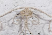 Pretty Portuguese Forged Iron no End Double Bed (3 of 5)