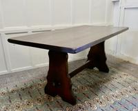 Large Country Oak Refectory Table (5 of 5)