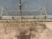 Large Victorian Cast Iron Cot (5 of 5)
