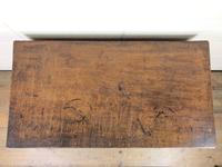 Georgian Oak Crossbanded Side Table (6 of 10)