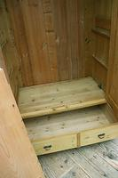 Superb! Old Triple Door 'Knock Down' Pine Combination Wardrobe - We Deliver! (2 of 11)