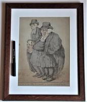 Original 18th Century Print by Robert Dighton, A Master Parson and His Journeyman, 1812 (4 of 9)
