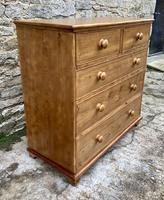 Antique Pine Chest of Drawers (10 of 17)