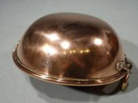 Fine Quality Early 19th Century, Very Heavy, Copper Cream Bowl (4 of 6)