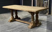 French Oak Refectory Farmhouse Dining Table (6 of 12)