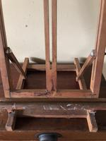 Vintage Artist Easel with Label from Tate St Ives (4 of 9)