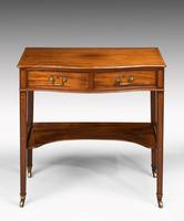 George III Period Mahogany Side Table of Very Small Proportions (4 of 5)