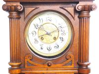 Wow! Antique German Spring Driven Quarter Striking Ting Tang 8- day Vienna Wall Clock (13 of 14)