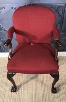 Mahogany Desk Chair c.1920 (2 of 8)