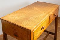 Vintage Mid Century 2 Drawer Oak Desk by Gordon Russell (6 of 14)