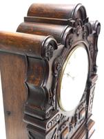 Antique English Twin Fusee Bracket Clock by Carter Cornhill London 8 Day Fusee Striking Mantel Clock (10 of 12)