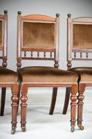 6 Victorian Walnut Dining Chairs (5 of 11)