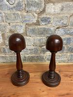 Mahogany Hat Stands (5 of 5)