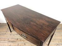 Georgian Mahogany Bow Front Side Table (14 of 14)