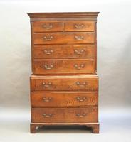 Rare George III Tallboy Chest of Drawers (8 of 15)