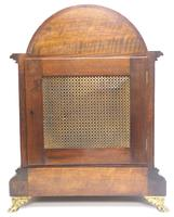 Mahogany & Bevelled Glass W&H Mantel Clock Dual Chiming Musical Bracket Clock Chiming on 9 Coiled Gongs (10 of 17)