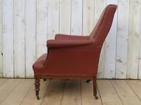 Antique French Napoleon III Armchair For Re-upholstery (5 of 9)