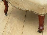 Antique French Tub Chair For Re-upholstery (4 of 8)