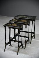 Nest Oriental Black Lacquer Tables (4 of 13)