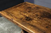 Wonderful French Chestnut Farmhouse Refectory Dining Table (7 of 37)