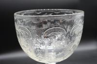 Massive and Rare Mid 19th Century Cut and Etched Goblet (6 of 6)