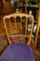 Pair of French Fruitwood Chairs (2 of 4)