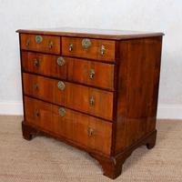 18th Century Chest of Drawers Swedish Inlaid Walnut (12 of 12)