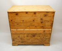 Large  2 Part Victorian Pine Mule Chest - Refurbished (26 of 27)