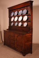 English Oak Dresser & Rack Early 18th Century (8 of 12)